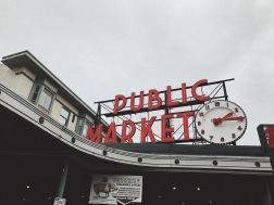 "Our first stop in Seattle was the famous ""Pike Place Market""! I absolutely loved the market, probably in my top 3 favorite place we went to!"